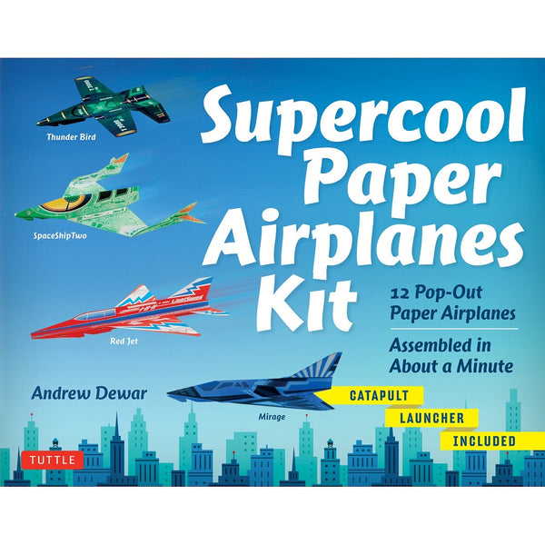 Book - Supercool Paper Airplanes Kit
