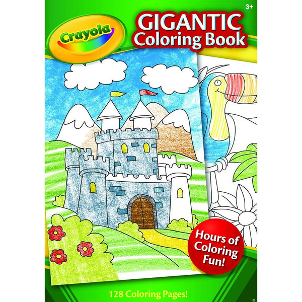 Crayola Gigantic Coloring Book 128 pages