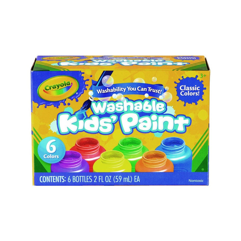 Crayola Washable Paint Classic set of 6