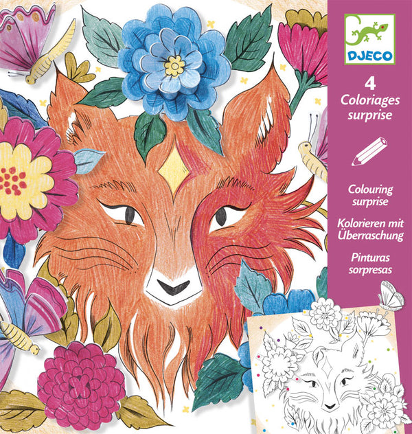 Djeco Colouring Surprise - Forest Friends