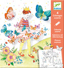 Djeco Colouring Surprise - Lady Butterfly