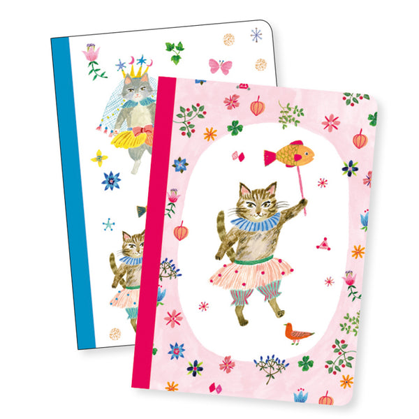 Djeco - Aiko Set of 2 Little Notebooks