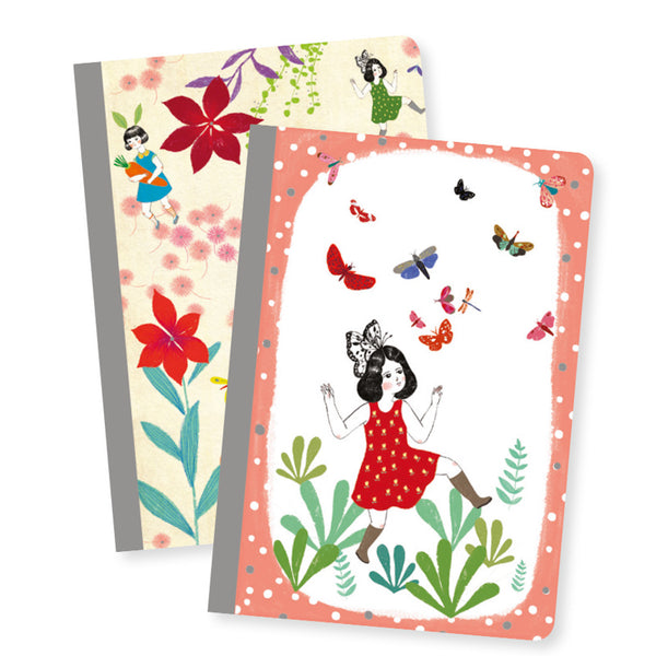 Djeco - Chichi Set of 2 Little Notebooks_