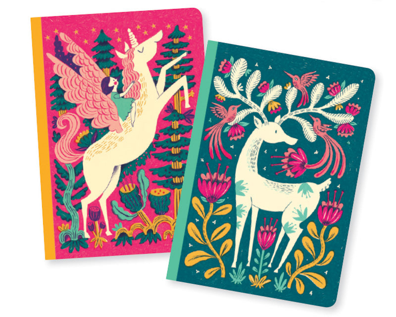 Djeco - Melissa Set of 2 Little Notebooks