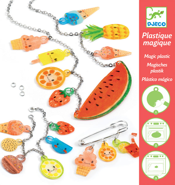 Djeco Plastic Shrinkies - Sweet Treats