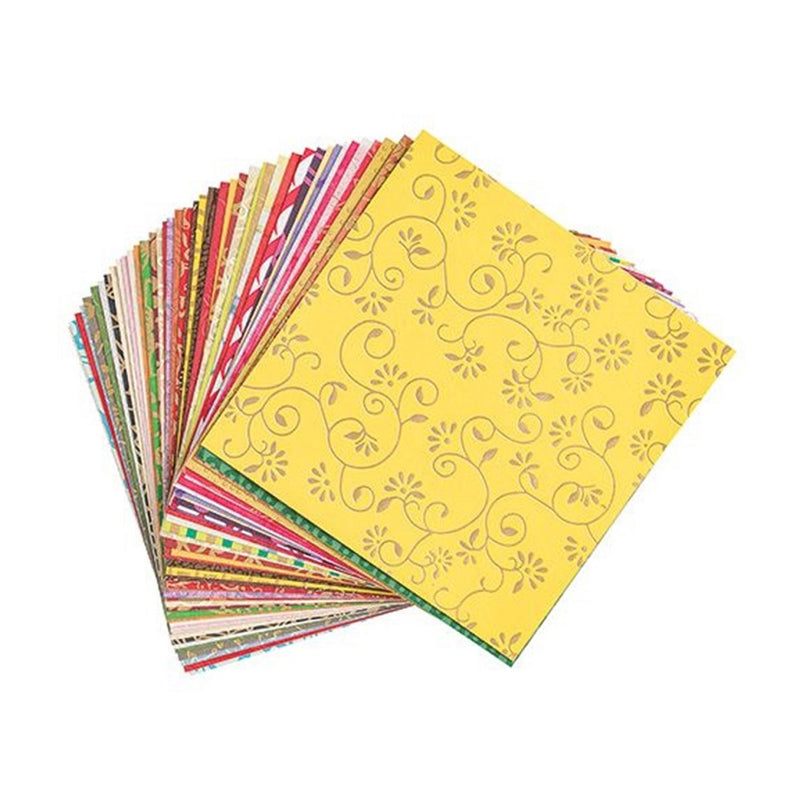 Handmade Decorative Paper 15x15cm Pack of 50