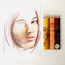 Jasart Studio Skin Tones Pencil Set of 12