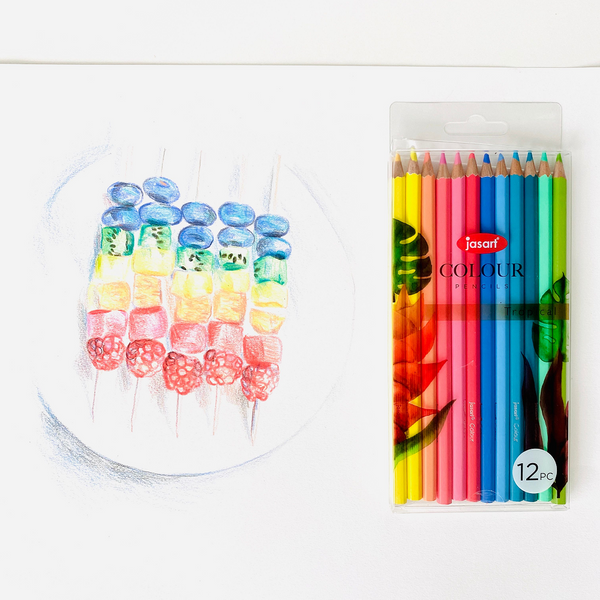 Jasart Studio Tropical Pencil Set of 12