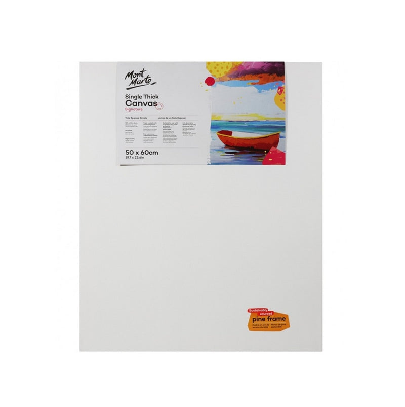 Mont Marte Studio Single Thick Canvas
