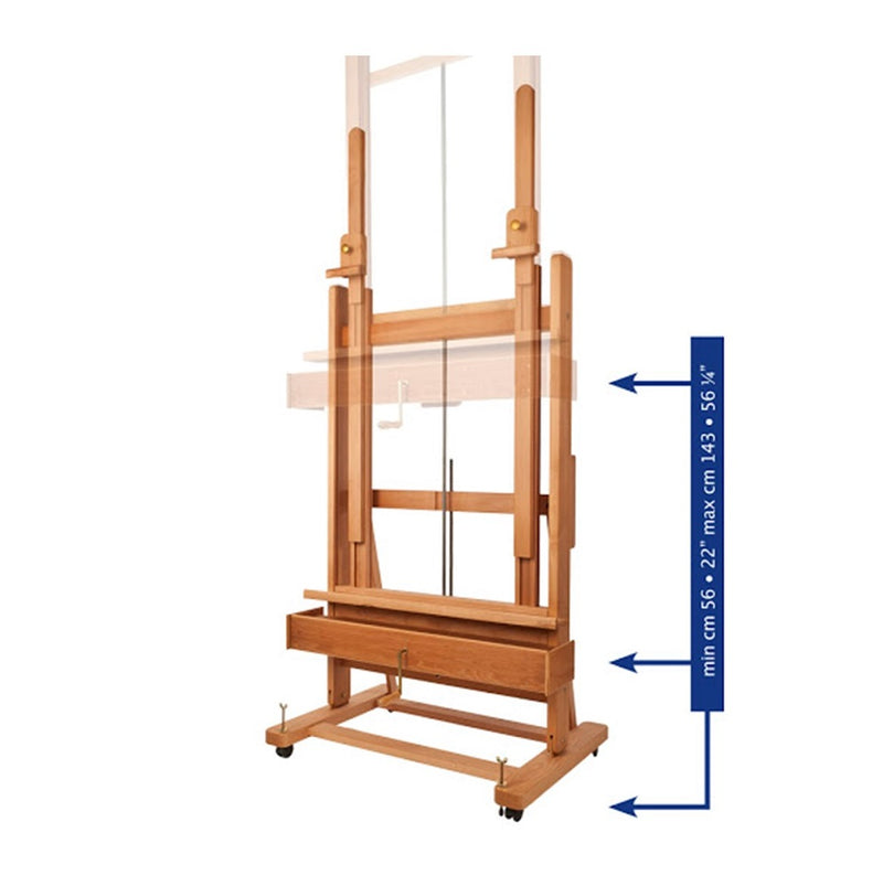 Mabef M02 Plus Studio Easel