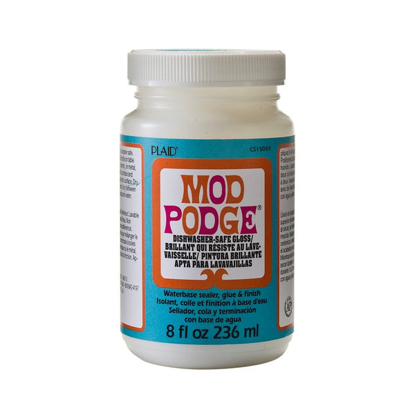 Mod Podge 8oz/236ml Dishwasher Safe - Gloss