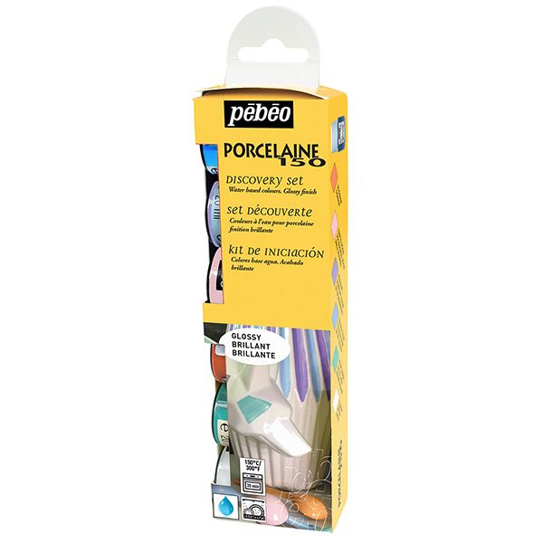 PEBEO Porcelaine 150 Discovery Set Pastel 6 x 20ml