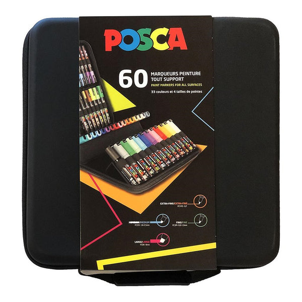 Posca Large Storage Case for 60 Markers