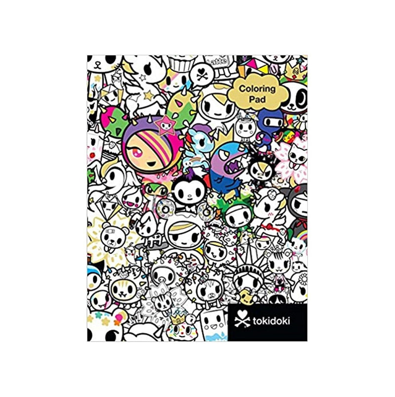 Tokidoki Colouring Book