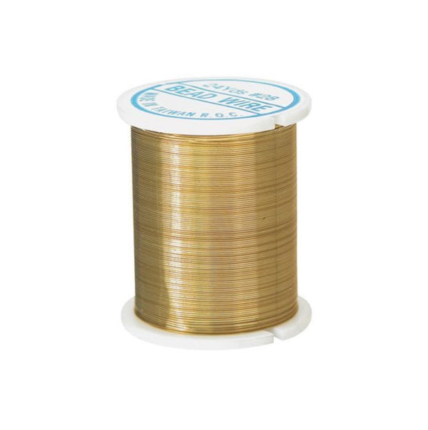 Zart Beading Wire 22m - Gold
