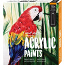 Mont Marte Acrylic Paints 18pce x 12ml