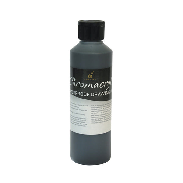 Chromacryl 500ml Waterproof Drawing Ink