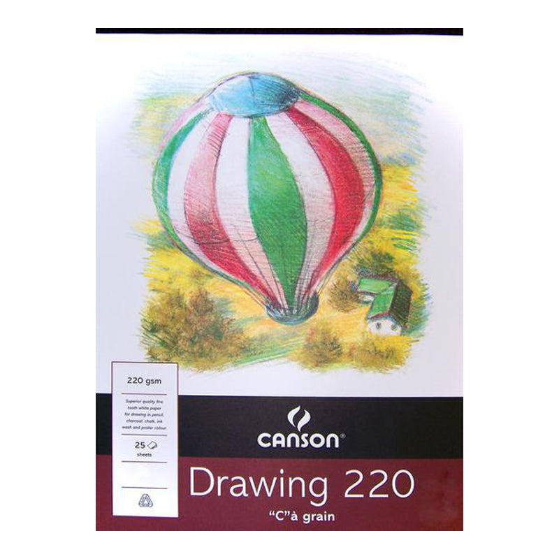 Canson Drawing Paper Pad 220gsm