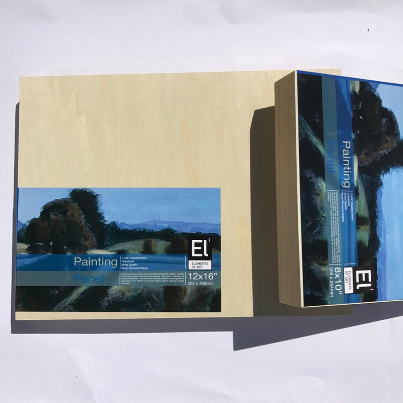 Elements of Art Wood Painting Panel 45mm