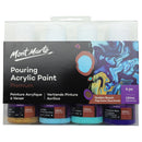 Mont Marte Pouring Acrylic 120ml x 4 - Golden Beach
