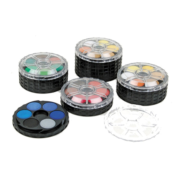 Micador for Artists Watercolour Disc Set of 12 Brilliant