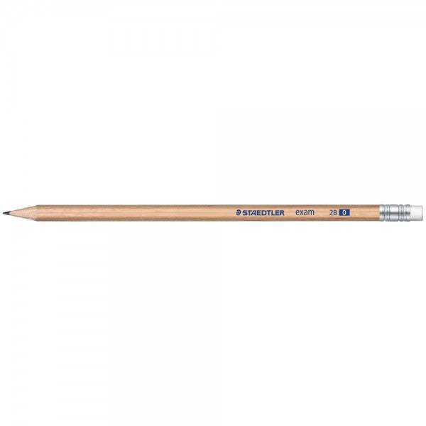 Staedtler Exam Pencil with Eraser Tip 2B
