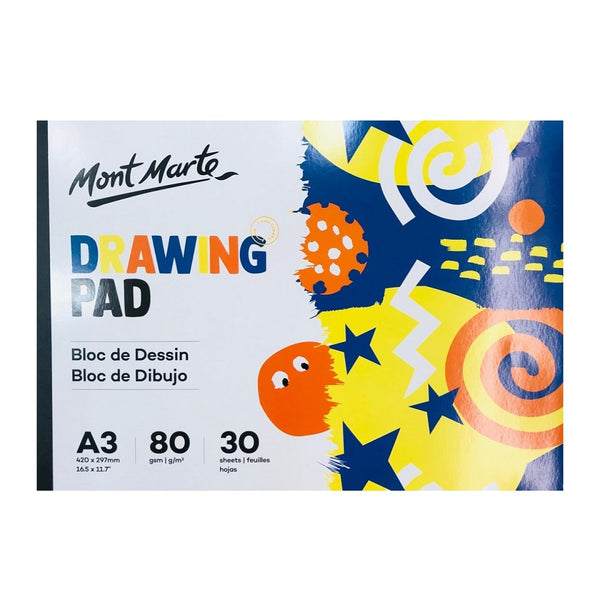 Mont Marte Kids Drawing Pad 30 sheets