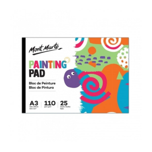 Mont Marte Kids Painting Pad 25 sheets