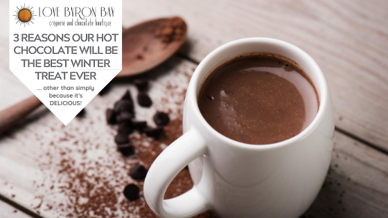 3 reasons our hot chocolate will be the best winter comforting treat ever