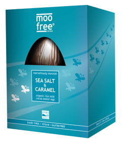 Vegan Moo Free Sea Salt & Caramel Luxury Easter Egg 160g