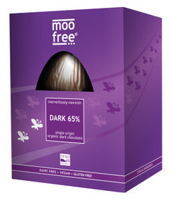Vegan Moo Free Dark 65% Luxury Easter Egg
