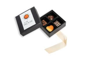 Love Byron Bay Organic Chocolate Praline Box of 4