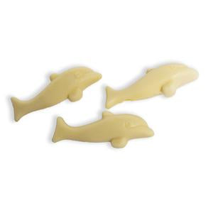Love Byron Bay Organic White Chocolate Dolphins