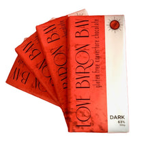 Load image into Gallery viewer, Love Byron Bay's - Delicious Dark Chocolate Blocks  Special Offer - Buy 3 and get one FREE