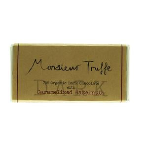 Monsieur Truffle Dark Chocloate Organic Caramalized Hazelnuts Love Byron Bay
