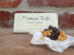 Monsieur Truffe - 51% Organic Chocolate with Honeycomb