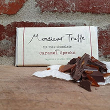 Load image into Gallery viewer, Monsieur Truffe - 51% Organic Chocolate with Caramel Specks