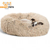 SMART PETS PLACE COMFY™ CALMING PET BED - XS / Beige