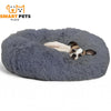 SMART PETS PLACE COMFY™ CALMING PET BED - XS / Gray