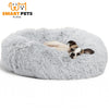 SMART PETS PLACE COMFY™ CALMING PET BED - XS / Light Gray