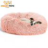 SMART PETS PLACE COMFY™ CALMING PET BED - XS / Pink
