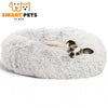 SMART PETS PLACE COMFY™ CALMING PET BED - XS / White