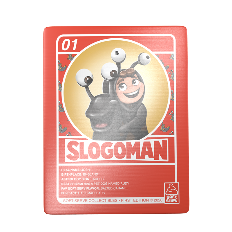 "SLOGOMAN 6"" VINYL COLLECTIBLE"