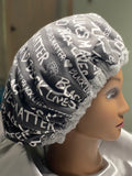 Black Lives Matter Deep Condition Heat Cap Thermal Cap - WASHABLE *made to order* -