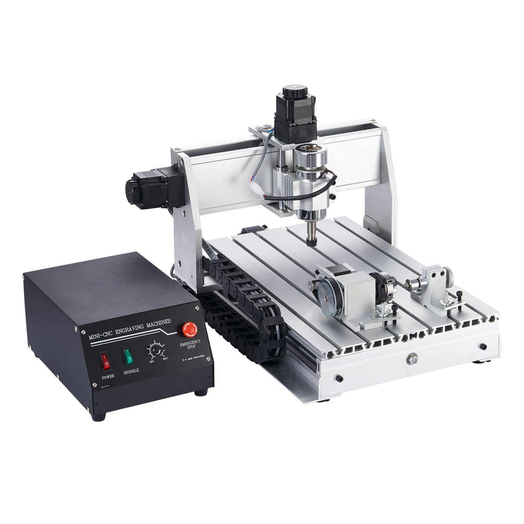 4-Axes CNC Router Machine