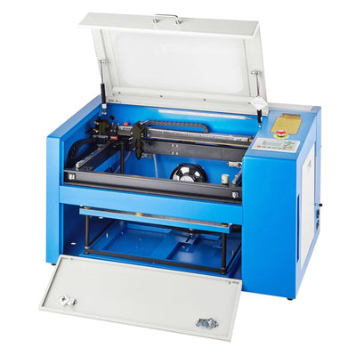 50W CO2 Cabinet Laser Engraver Cutting Machine