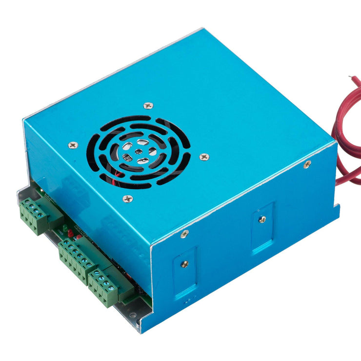 50W Power Supply for CO2 Laser Engraver Cutting Machine, AC 110V/220V