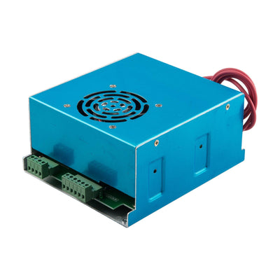 60W Power Supply for CO2 Laser Engraver Cutting Machine, AC 110V/220V