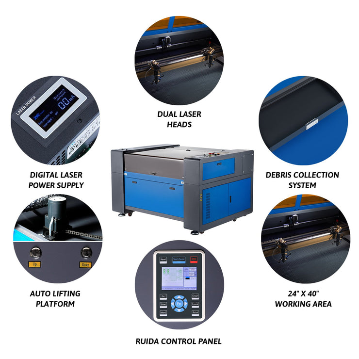 CO2 Laser Engraver Cutting Machine Features Picture