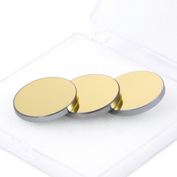 Gold Coated Silicon Laser Engraving Mirror Set